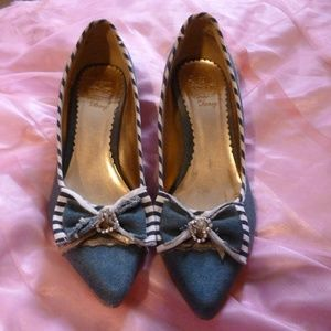 35c20e9c66dd graceland Shoes - AMAZING DENIM HEELS!